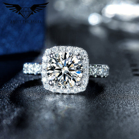 Balacia:2 Carat Moissanite Engagement Rings