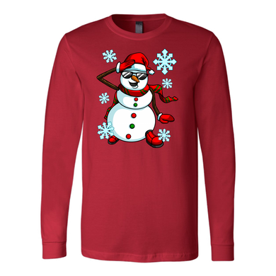Holiday Snowman Tee