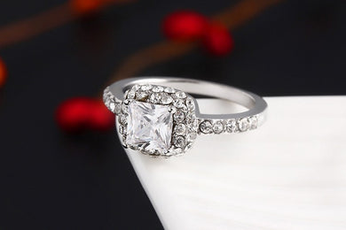 Luxury Shiny Wedding Ring In Time For Christmas, Gifts Jewelry For Women Only $20.99+Free Shipping!