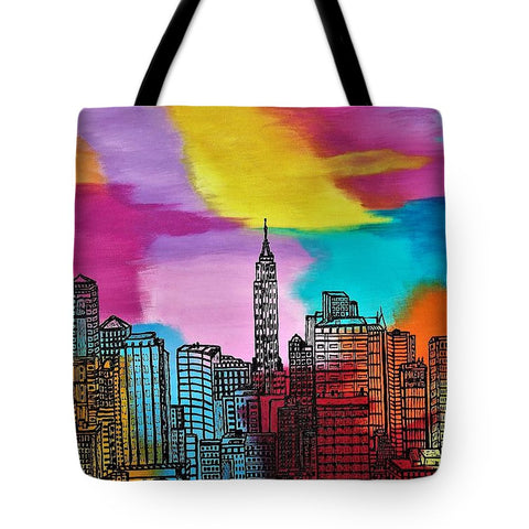 Image of View On New York - Tote Bag