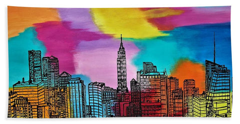 Image de View On New York - Serviette de plage