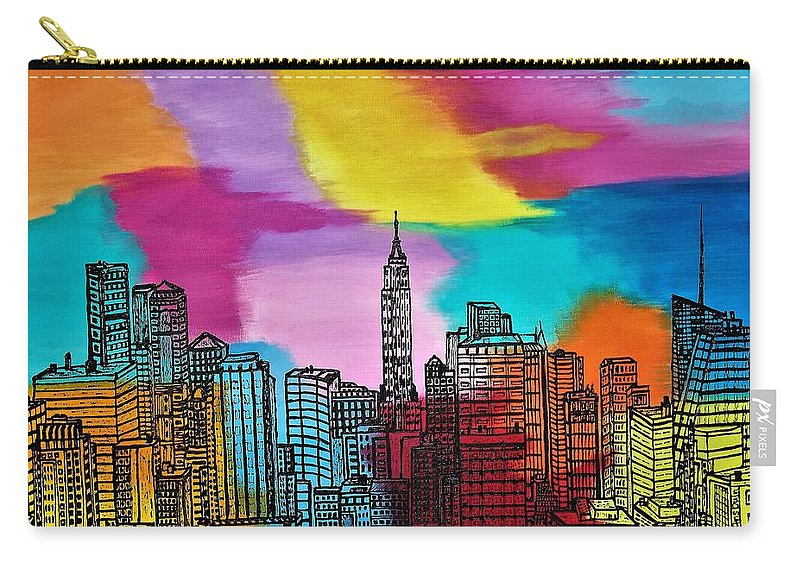 View On New York - Carry-All Pouch