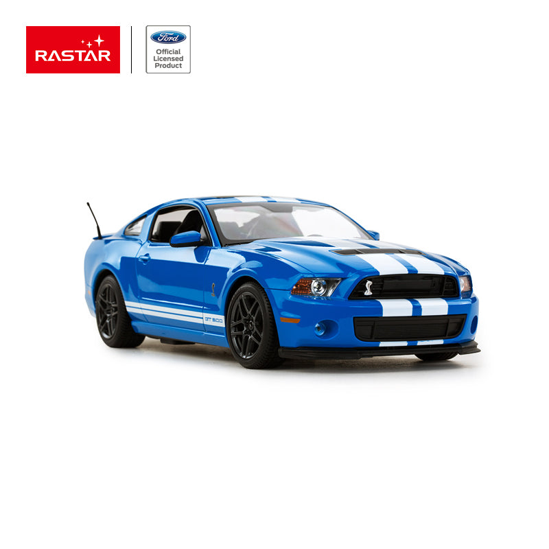 ford shelby gt500 bleu