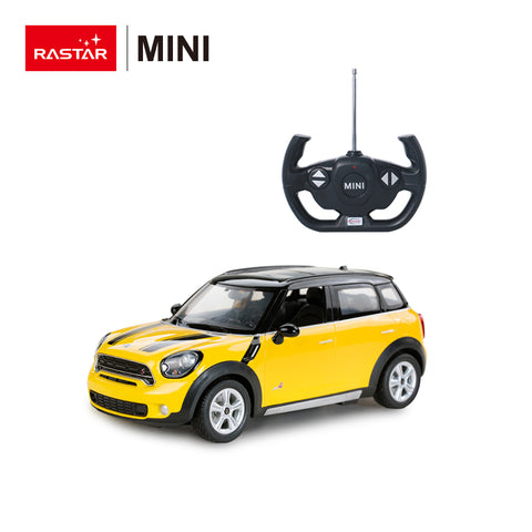 Mini Cooper Countryman JCW RX - Yellow or Red - R/C cars - 1:14 Scale - Sold in Canada only!