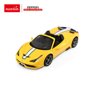 Ferrari 458 Speciale A, yellow - R/C cars - 1:14 Scale - Sold in Canada only!