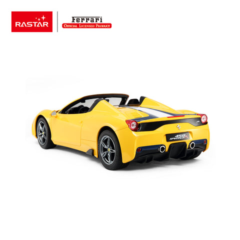 Image of Ferrari 458 Speciale A, yellow - R/C cars - 1:14 Scale - Sold in Canada only!