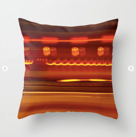 Abstract in #Montreal - Throw Pillow