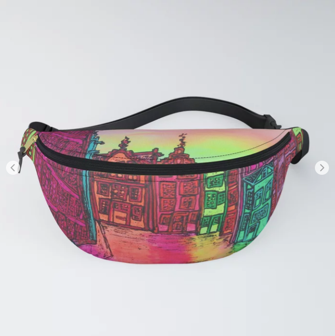 Amsterdam Stromarkt by Ans Duin - Fanny Pack