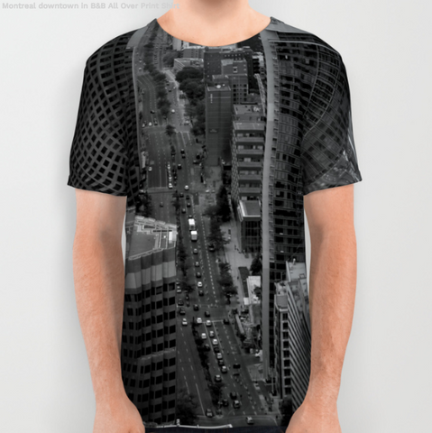 Image of Tshirt - Montreal Downtown - Tshirt