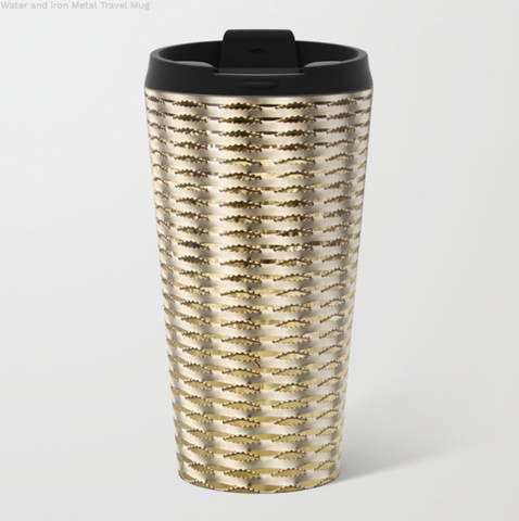 Image of Metal Travel Mugs - Metal And Water - 15 Oz - Metal Travel Mugs