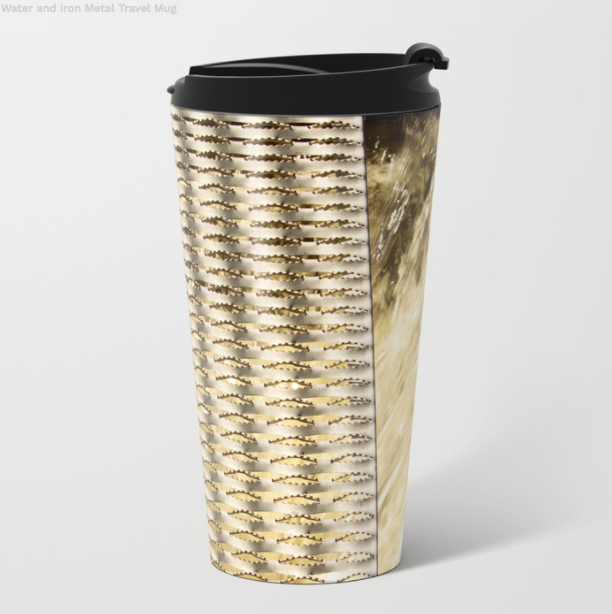Metal Travel Mugs - Metal And Water - 15 Oz - Metal Travel Mugs