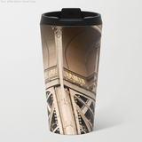 Metal Travel Mugs - Eiffel Tower in Paris - 15 Oz