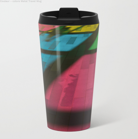 Image of Metal Travel Mugs - Palais Des Congrès Mtl - 15 Oz - Metal Travel Mugs