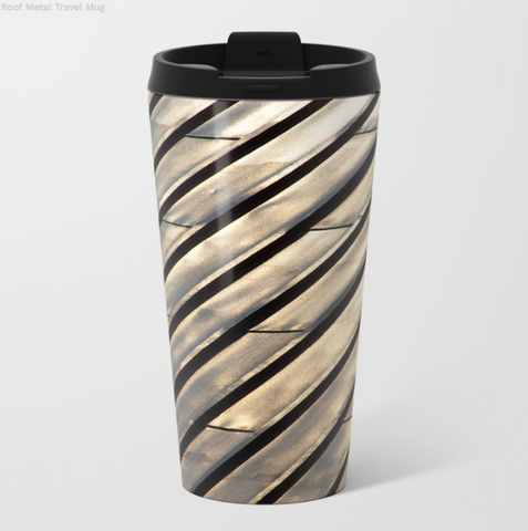 Metal Travel Mugs - The Roof In Montreal - 15 Oz - Metal Travel Mugs