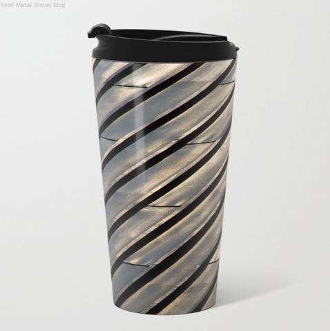 Image of Metal Travel Mugs - The Roof In Montreal - 15 Oz - Metal Travel Mugs