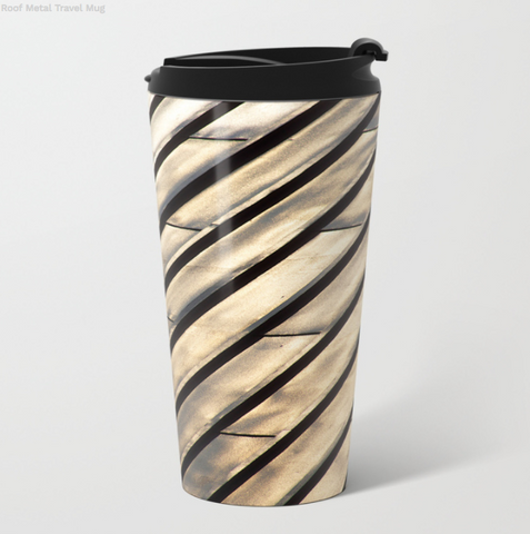 Metal Travel Mugs - The roof in Montreal - 15 Oz