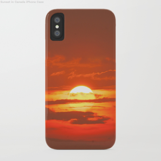 Phone case - Sunset in Montreal