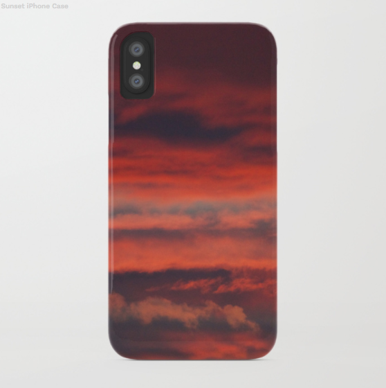 Phone case - Sunset in Canada