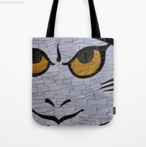 Tote Bag - Mosaic on a wall
