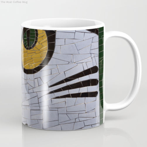 Mugs - Mosaic on the wall