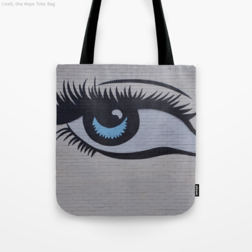 Tote Bag - The eye on the wall