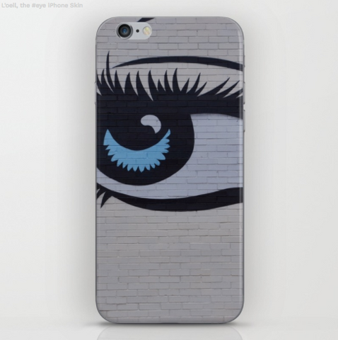Image of Phone case - the eye on the wall