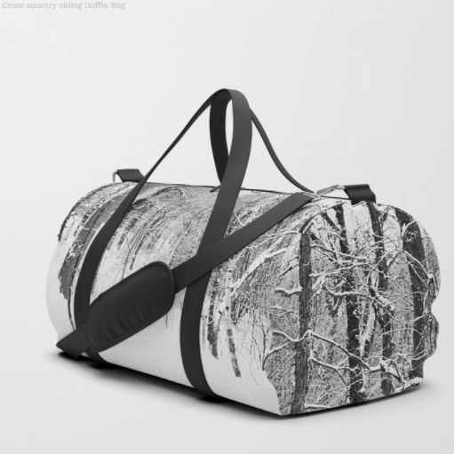 Forest in winter - Duffle bag