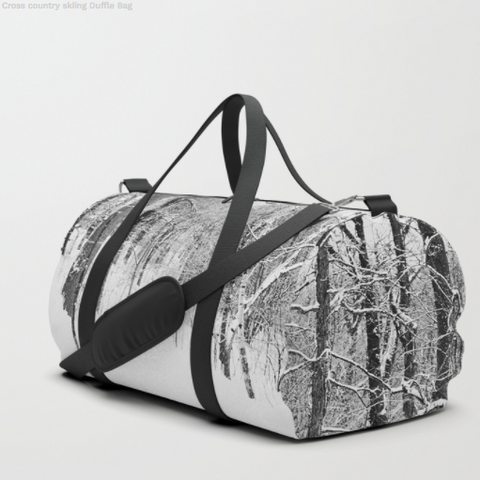 Forest In Winter - Duffle Bag - Duflfe Bag