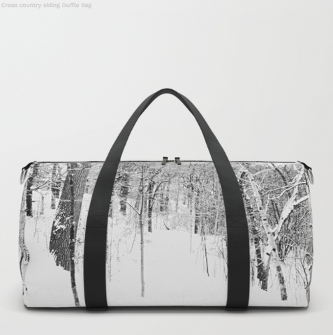 Image of Forest in winter - Duffle bag