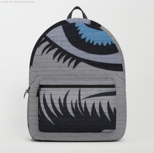 Backpack - Graffiti eye
