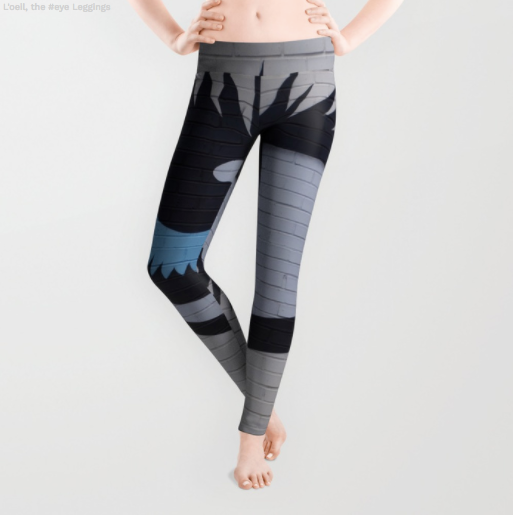 Leggings - The Eye - Graffiti - Leggings