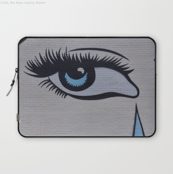 Laptop Sleeve - Blue Eye In Montreal Canada - Laptopsleeve