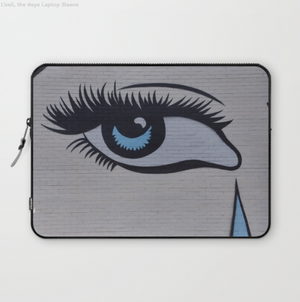 Laptop Sleeve - Blue Eye à Montréal Canada - Laptopsleeve