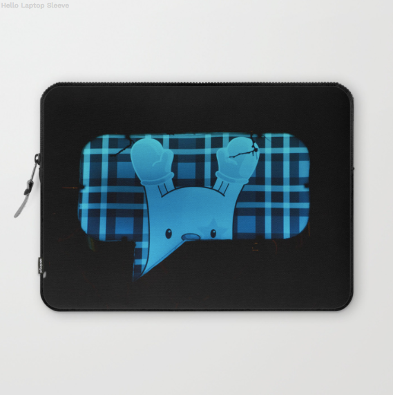 Laptop Sleeve - Funny Road Sign In Montreal Canada - Laptopsleeve