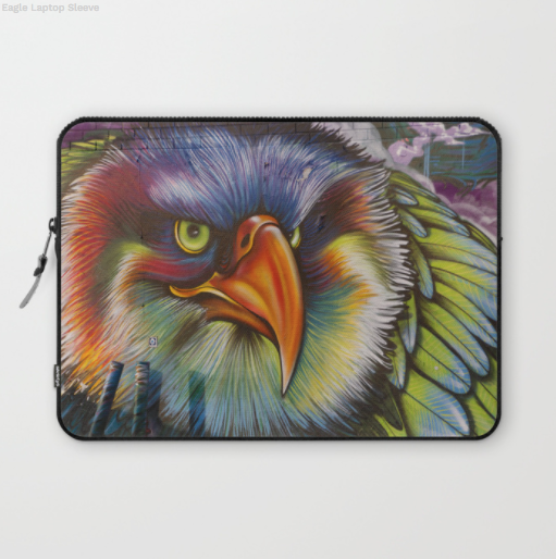 Laptop Sleeve - Eagle Graffiti à Montréal Canada - Laptopsleeve