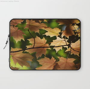 Laptop Sleeve - Autumn In Montreal Canada - Laptopsleeve