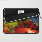 Laptop Sleeve - Glass colours of Dale Chihuly