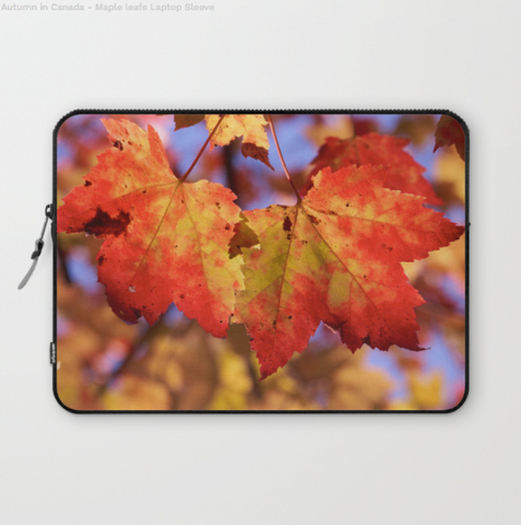 Laptop Sleeve - Maple Leaf In Canada - Laptopsleeve