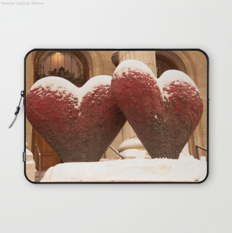 Laptop Sleeve - Two Hearts In Canada - Laptopsleeve