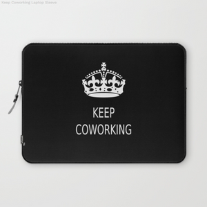 Laptop Sleeve - Keep Coworking - Laptopsleeve