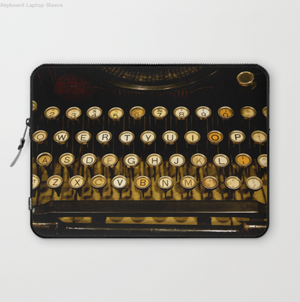 Housse ordinateur portable - Clavier vintage - Laptopsleeve