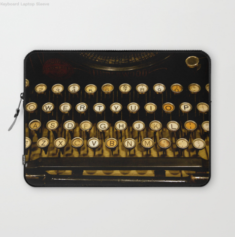 Laptop Sleeve - Vintage Keyboard - Laptopsleeve