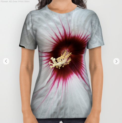 Tshirt - Flower In The Summer - Tshirt