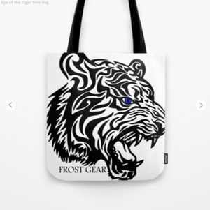 Tote Bag - Eye Of The Tiger - Tote Bag