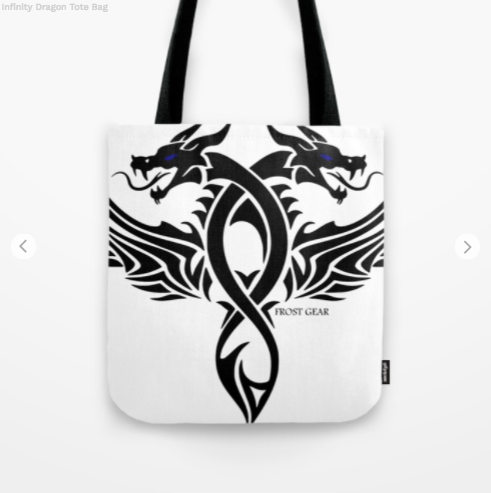 Tote Bag - Infinity Dragon - Tote Bag