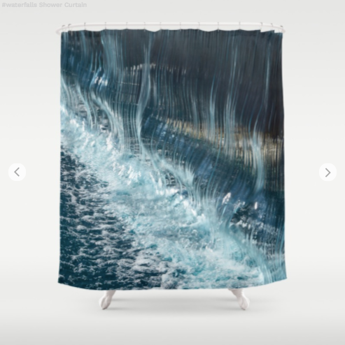 Shower Curtain - Waterfalls In Quebec - Shower Curtain
