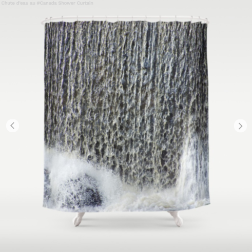 Shower Curtain - Waterfalls 2 - Shower Curtain