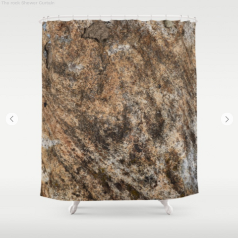 Shower Curtain - The rocks