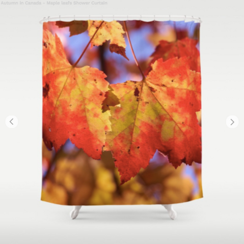 Shower Curtain - Autumn in Canada