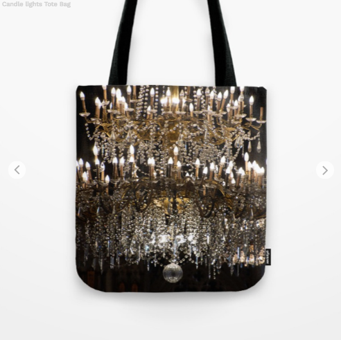 Tote Bag - Chandelier In Canada - Tote Bag